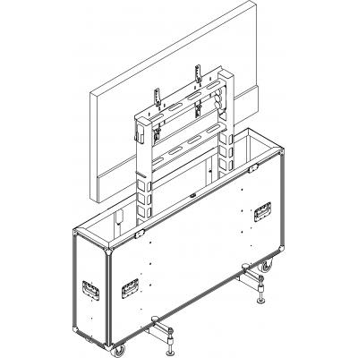 Лифт-кофр транспортировочный для презентаций