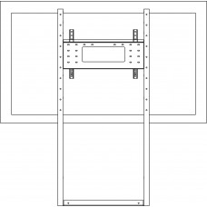 Крепление напольно-настенное для монитора ALG-5937