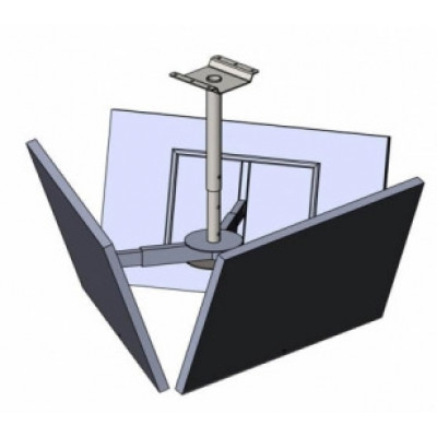 Крепление потолочное для 3-х ТВ