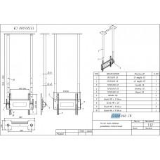 Потолочный кронштейн для ТВ П-1/90 ALG CM