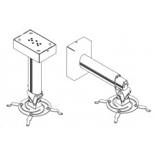 Потолочное (или настенное) крепление для проектора