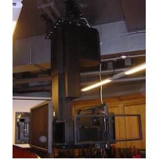 Лифт для подвеса четырех плазменных панелей