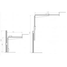 Моторизованная напольная стойка под камеру-2