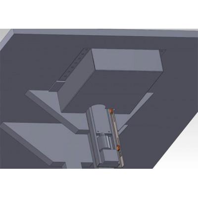 Моторизованный проектор, встраиваемый в стол