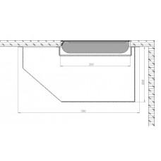Моторизированный откидной лифт- бокс для ЖК монитора 20-27