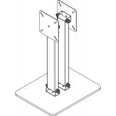 Allegri Подставка настольная NM-02 под 2 монитора