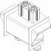 Allegri Настольный кронштейн для четырех мониторов ALG 421ST