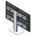 Настольная видеостена 2х2 под мониторы на подставке