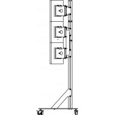 Allegri 9 Стойка напольная для 9 мониторов 3х3