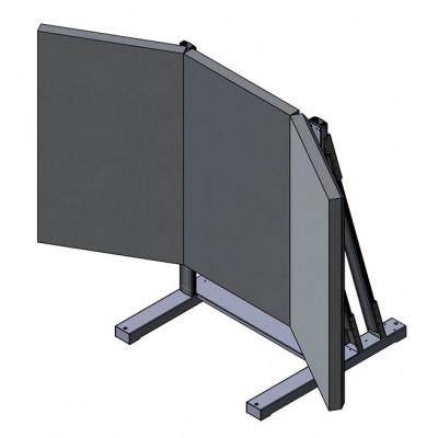 """Allegri Техно-С-11 (на 3 панели Sharp 80"""")"""
