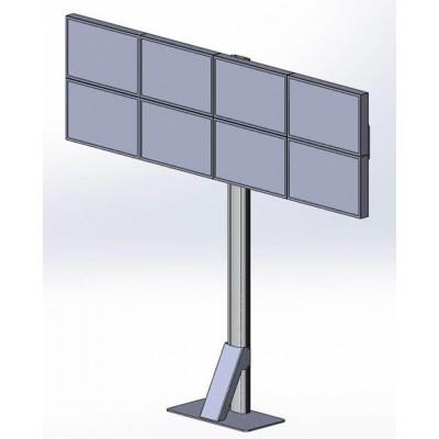 Напольная мониторная видеостена 4х2 (V2)