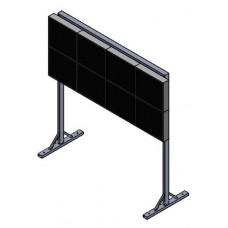 Напольная мониторная видеостена 4х2 (V3)