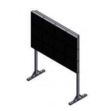 Напольная мониторная видеостена 4х3