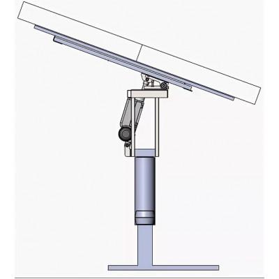 напольная механическая (газ-лифт) наклонная стойка для панелей