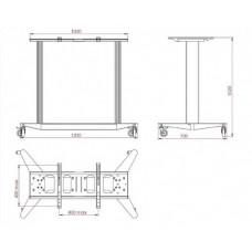 Allegri Стойка-стол для сенсорной панели SMS