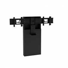 Напольная стойка для ВКС на два монитора ALG VCS F10