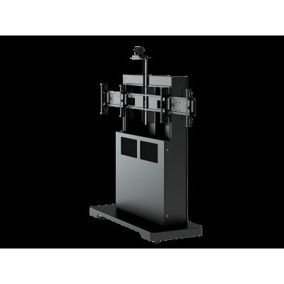 Напольная стойка для ВКС на два монитора ALG VCS F7