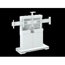 Напольная стойка для ВКС на два монитора ALG VCS F8
