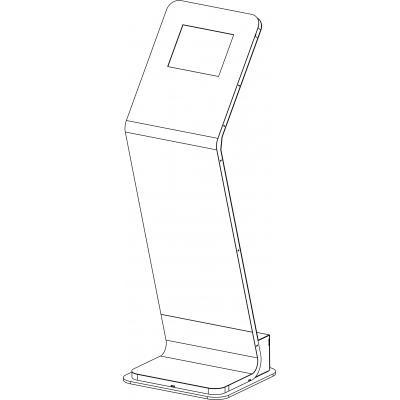 17722 Стойка напольная для планшета Apple iPad Pro 9.7