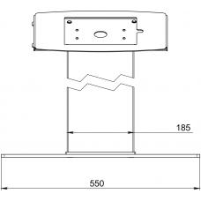 Напольная стойка под планшет ALG TAB F 2