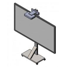 Напольная мобильная стойка под интерактивную доску с кронштейном под УКФ проектор 2