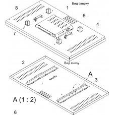 Кожух для мониторов (задняя крышка дисплея)