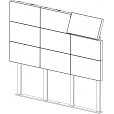 какркас напольно-настенный ALG Wall-Ceiling 3х3