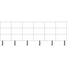 какркас напольно-настенный ALG Wall-Ceiling 6х3