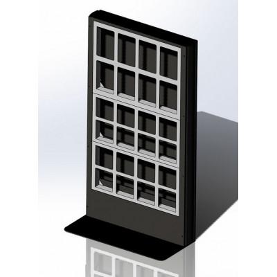 Напольная видеостена 1х3 для светодиодных модулей