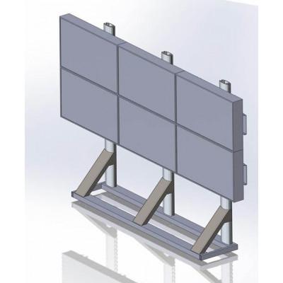 Напольная видеостена 3x2 под Samsung 400UX-3