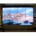 Напольно-настенная видеостена 4х4 под Nec X462UN с защитным кожухом и стеклом