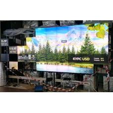 Напольно-настенная видеостена под Christie MicroTiles