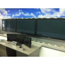 Настенная видеостена 2х1 и 3х1 под Nec X551UN (для вагона поезда)