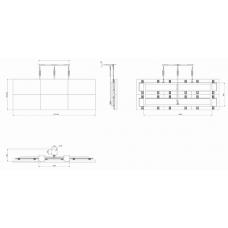 """Потолочная видеостена 3x2 под Orion 42"""" OPM-4240"""