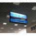 """Потолочная видеостена 2x2 двухсторонняя под LG 55"""" с кронштейном откидного типа"""