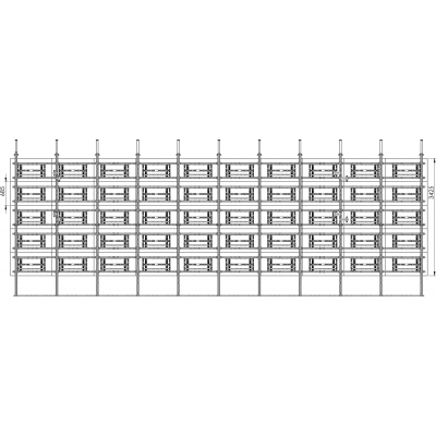 Allegri Каркас распорный для видеостены 10х5