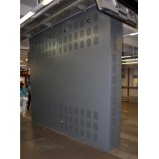 Распорная видеостена 4х4 под Nec X462UN с защитным кожухом и стеклом