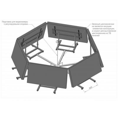Видеоконференцсвязь-1 (шестигранник)